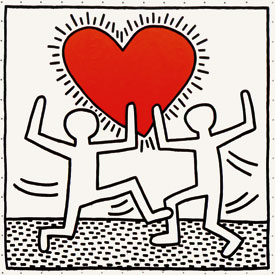 Untitled, Keith Haring 1982 Source: www.haring.com