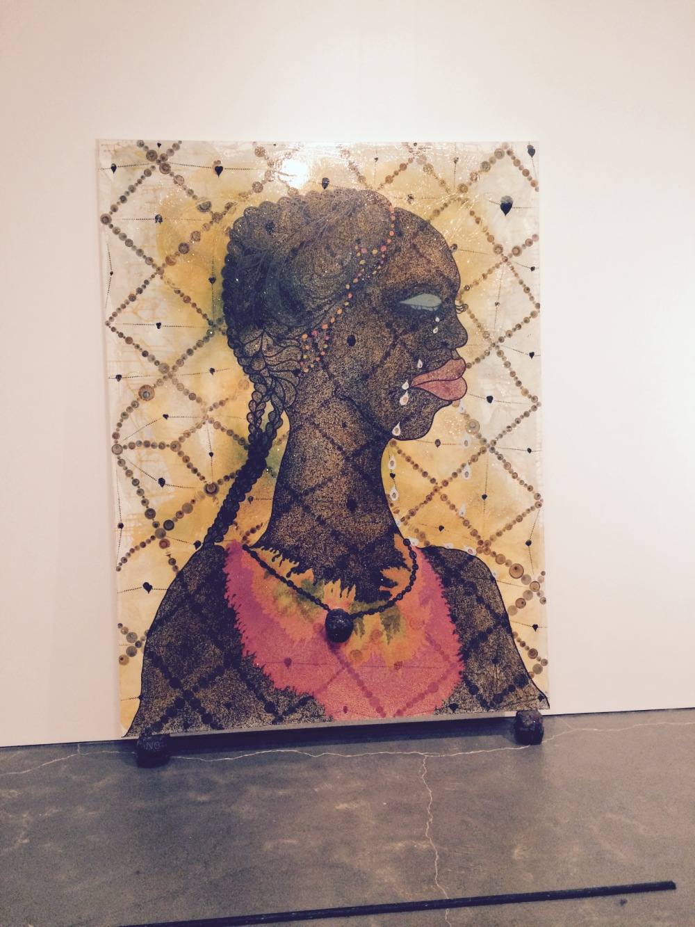 Chris Ofili's No Woman, No Cry 1998