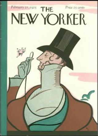 Original  Eustace Tilley 1925 Cover