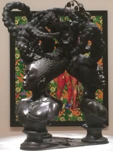 Bound, Kehinde Wiley at Brooklyn Museum 2015