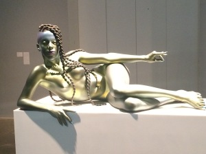 Juliana Huxtable Sculpture by Frank Benson, New Museum Triennial Spring 2015