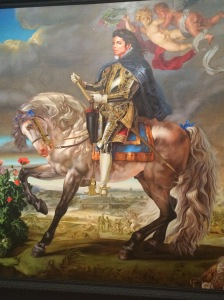 Equestrian Portrait of King Philip II (Michael Jackson), 2010.